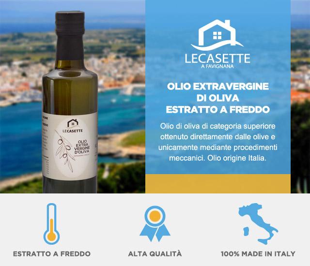 olio extravergine di oliva le casette
